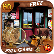 Antiquity - Free Search & find concealed and hidden objects in a old store