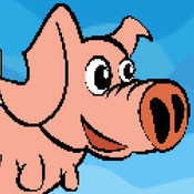 Flappy Angel Pig - Adventure of crazy flying pig