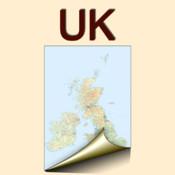 United Kingdom. Physical map. japan physical map