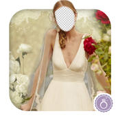 Wedding Bridal Gowns Montage