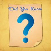 Did you know? - Information and Facts information