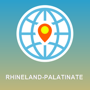 Rhineland-Palatinate Map - Offline Map, POI, GPS, Directions