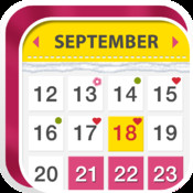 Woman Calendar-Period Tracker/Ovulation Tracker/Conception Tracker