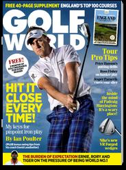 golf world magazine: