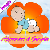 Apprendre et de grandir pour enfants (animaux, parties du corps, Fruits et Légumes) - Learn and Grow for Kids (Animals, Body Parts, Fruits and Vegetables)