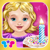 Baby Birthday Party - Happy Birthday! Bake a Cake and Celebrate! party