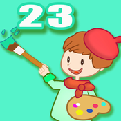 Coloring Book 23 - Making the car ship and plane colorful
