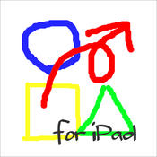 PaintOver for iPad - Simple & easy painting tool for kids & aged people