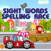 Sight Words Spelling Race: Hot Cars, Fast Fairies & Fairy Tale Dash HD fairy free words