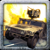 A Thunder Run: Modern War Battlefield Racing Shooter Pro