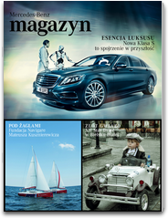 MERCEDES-BENZ MAGAZYN mercedes benz