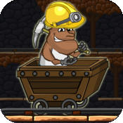 Gold Miner Jack Rush: Ride the Rail to Escape the Pitfall rail rush