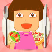 Kitchen Foods Game for Dora Lego Version foods and
