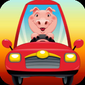 Animals Driving Cars Expert M3: Match 3 Puzzle Game