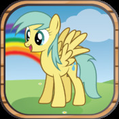 Pony Jump Game for Kids: Cute Little Ponies jump through the magic forest