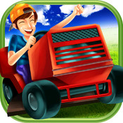 3D Lawn Mower Racing Game FREE