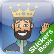 Kings Decision Stickers Book facebook sticker