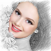A+ Splash Effect HD - Wipe Sketch Avatar Photo FX Effects For Pinterest,FB,PS