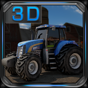Farm Tractor Driver 3D Parking - Realistic Farming Simulator agricultural societies