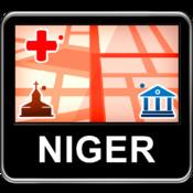 Niger Vector Map - Travel Monster