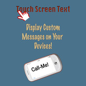 Touch Screen Text touch screen keyboard
