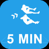 5 Minute Abs Calisthenics Challenge : Get your six pack with Full Fitness exercise workout trainer and fitness buddy, home, on-the-go personal mobile fitness trainer, weight loss for Health