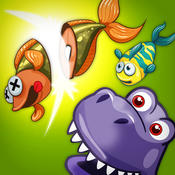 A Dinosaur Park Fish Frenzy FREE - Jurassic Pet Dino Zoo Fishing Game