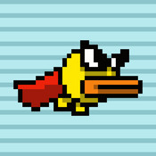 Hopping Hero: The Flying Super Hero Bird