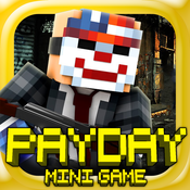 PAYDAY VEGAS: Heist Shooter Survival Mini Block Game with Multiplayer custom