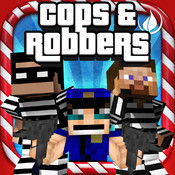 Cops And Robbers (Jail Break) - Mini Block Survival Game