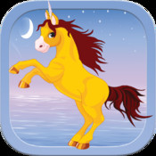 A Petite Unicorn Jumping Chase PRO – Move the cloud and catch Uri now!