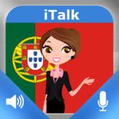 iTalk Portoghese conversazionale: registrare e riprodurre, imparare a parlare veloce, espressioni e prove di vocabolario per i parlanti di lingua italiana