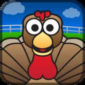 Turkey Gobble animated turkey wallpaper