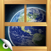 Kids World Atlas Game - a window to the world to discover and learn about the Planet Earth geography and nature