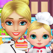 My Mom is a TV Celebrity Chef! Star Babysitting Game