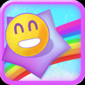 Smiley Race on Rainbow Land - Multiplayer Emoticon Game