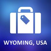 Wyoming, USA Offline Vector Map