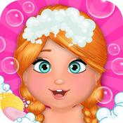 Baby Spa Salon - Princess Mega Massage Girl Game hot girl massage com