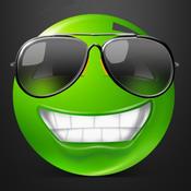 Green Text Smileys Keyboard - New Emojis & Extra Emojis by Emoji World