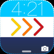 LockScreen for iOS7 - Pimp Out a Custom it with new colorful themes and styles