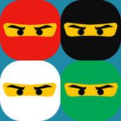 Matching Play Kids Games For Ninjago Edition pairs