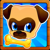 Where`s my lost pet pug? Benji & Muzy on a Fun Puppy dog Running Race game for kids