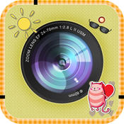 Cute Beautiful Sticker - photo editor, filters, effects, camera plus frames for your