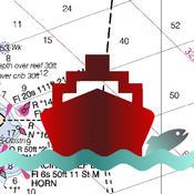 i-Boating: GPS Nautical / Marine Charts - offline sea, lake & river navigation maps for fishing & sailing