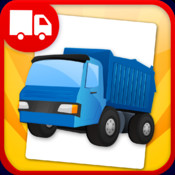 Trucks Flashcards - Things That Go words and sounds for kids