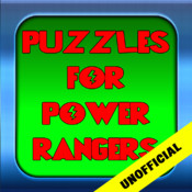 Puzzles games for Power Rangers