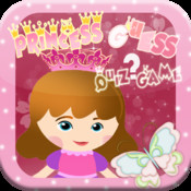 Princess Quiz Game : Guess The Princess Cartoon princess