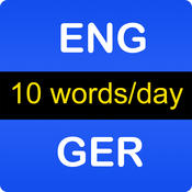 English-German Vocabulary Trainer for Beginners: Animals, School, Sports, Food, Professions and more
