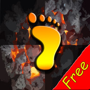 Fire Walking FREE-Don`t Step on the Fire Tiles with Jumpa Hot Feet free fire screensaver 1 31