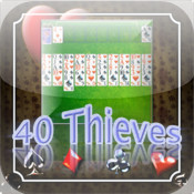 Forty Thieves Solitaire by Nerdicus Rex